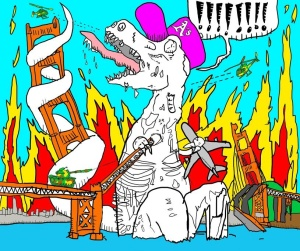 mc-lars-the-zombie-dinosaur-lp